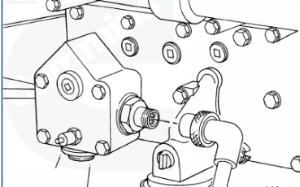 cummins m11 block heater location